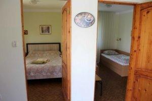 Двух комнатный коттедж стандарт в Коктебеле